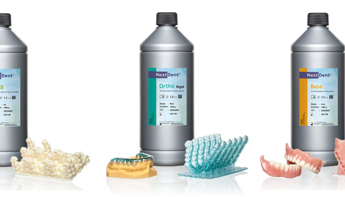 Vertex-Dental presents Class IIa NextDent dental 3D printing materials