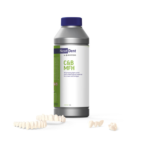 NextDent 3DSystems CB MFH | NextDent and 3D Systems - Leading Dental Materials for 3D Printing
