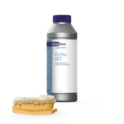 NextDent 3DSystems Ortho IBT | NextDent and 3D Systems - Leading Dental Materials for 3D Printing