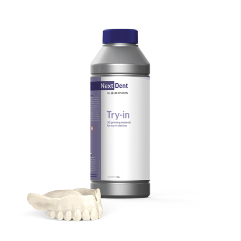 NextDent 3DSystemsTry-in | NextDent and 3D Systems - Leading Dental Materials for 3D Printing